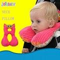 1-6 anos Acessórios Carrinho De Bebê Almofada Travesseiro Almofada Do Pescoço Do Bebê Dos Desenhos Animados Travesseiro U-em forma de Travesseiro de Viagem de carro almofada do assento de almofadas