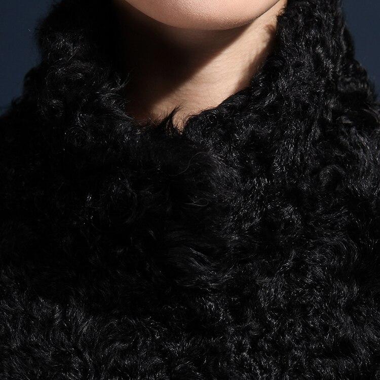 Gratuite White 2015 Hiver Mongolie Veste black Black De Manteau Grey Tsu13010 Avec Bébé Agneau Mouton Peau Livraison Fourrure Ems Manches La UZrdUAx