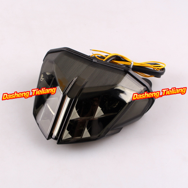 Motorcycle For Ducati Streetfighter S 848 1100 LED Taillight Turn Signals Lamps Smoke