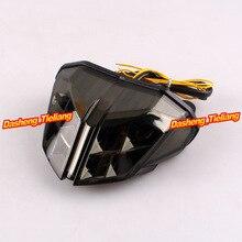 Motocicleta para Ducati Streetfighter S 848 1100 LED luz trasera + las lámparas de señales de humo