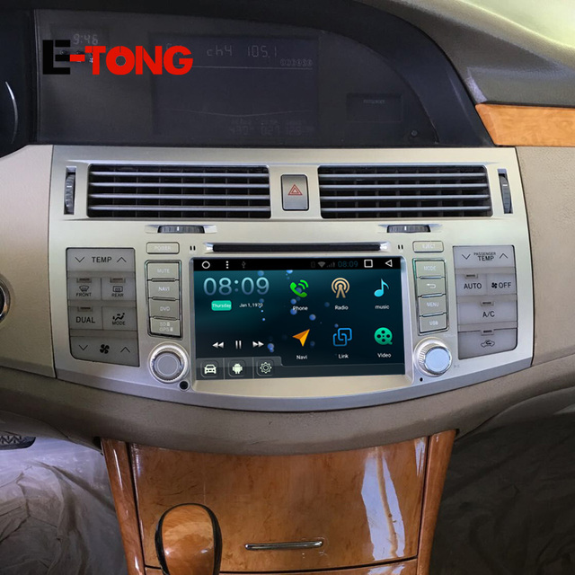 android  din universal car electronic player audio