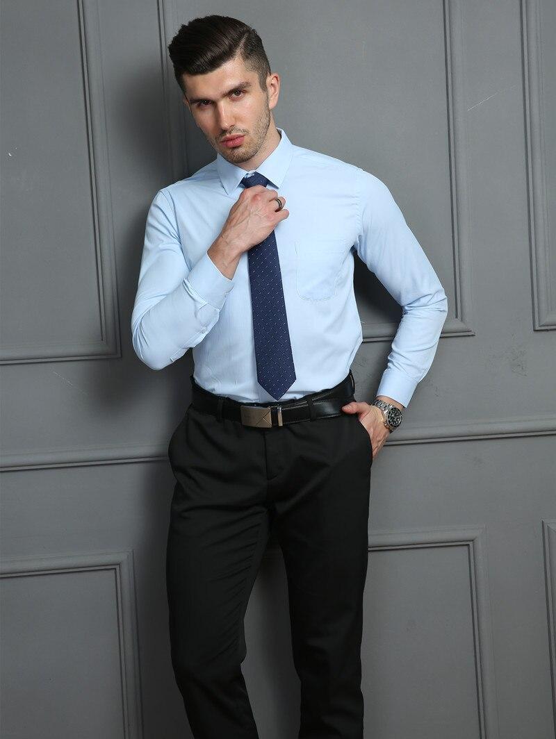 HTB1O1RVWhYaK1RjSZFnq6y80pXaP 4XL 5XL 6XL 7XL 8XL Large Size Men's Business Casual Long Sleeved Shirt White Blue Black Smart Male Social Dress Shirt Plus