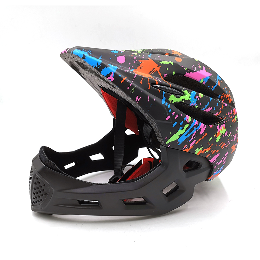 full face cycling helmet for kids children s bicycle. Black Bedroom Furniture Sets. Home Design Ideas