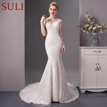 SuLi SL-6082 Stunning Mermaid Wedding Dress 2019 full