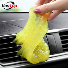 Rovtop Auto Schoon Lijm Cleaner Dust Slijmerige Gel Voor PC Toetsenbord Vegen Super Cleaning Sponzen Lijm Vent Air Outlet Cleaner z2(China)