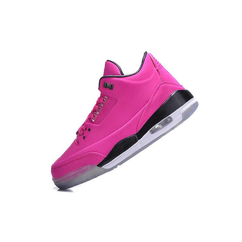 4fa3e1c4df1 ... Original Nike Air Jordan III Retro 216 Breathable Basketball Shoes  Sneakers, Women's Pink And Comfort ...