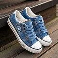 Women Canvas Shoes Star Summer Casual Shoe Trainers Walking Skate Shoes Flats Tenis Chaussure Femmes Plus Size