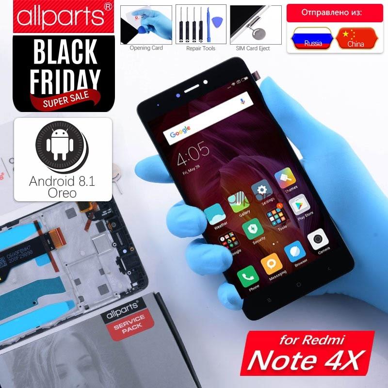 Snapdragon 625 Original Display Für XIAOMI Redmi Hinweis 4X LCD Touch Screen Mit Rahmen Für Redmi Hinweis 4X LCD Display ersatz