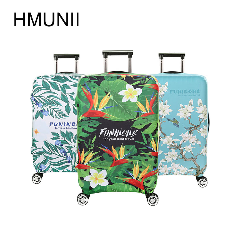 HMUNII Fashion Elastic Fabric Luggage Protective Cover, Suitable18-32 Inch , Trolley Case Suitcase Dust Cover Travel Accessories