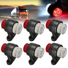 1Pc 10-30V 8LED Truck Trailer Lorry Van Side Marker Lamp Indicator Lightfor Car Vhicles Tail Led Light