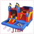 4*3.5*2.5 mH uso Doméstico inflables, inflable combo diapositiva inflable, castillo inflable, moonwalk puente