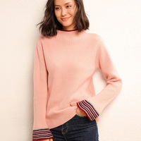 Soft Cashmere Elastic Sweaters and Pullovers for Women Autumn Winter Sweater O Neck Female Wool Knitted