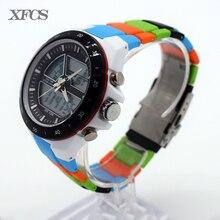 XFCS relojes impermeables para hombres hombre original automático watchs esportivo mens marca digitales reloj militar reloj tendencia tácticos