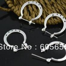 Ювелирные изделия 20 мм посеребренные крючки для серьг с 5 отверстиями 100 шт./лот