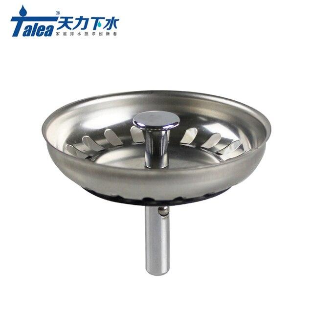 Talea 73mmStainless Steel Kitchen Sink Strainer Stopper Bathroom ...