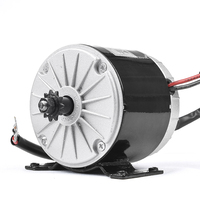 Ebike Electric Scooter Motor 36V 350W Motor For a Scooter Ebike Brush High Speed Electric Bicycle Kit Bicycle Accessories
