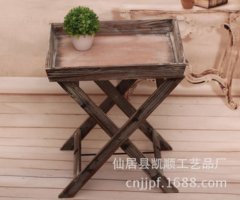 Spot wholesale and retail pastoral creativity to do the old balcony flower racks SH-564