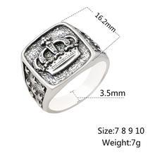 Crown Signet Ring