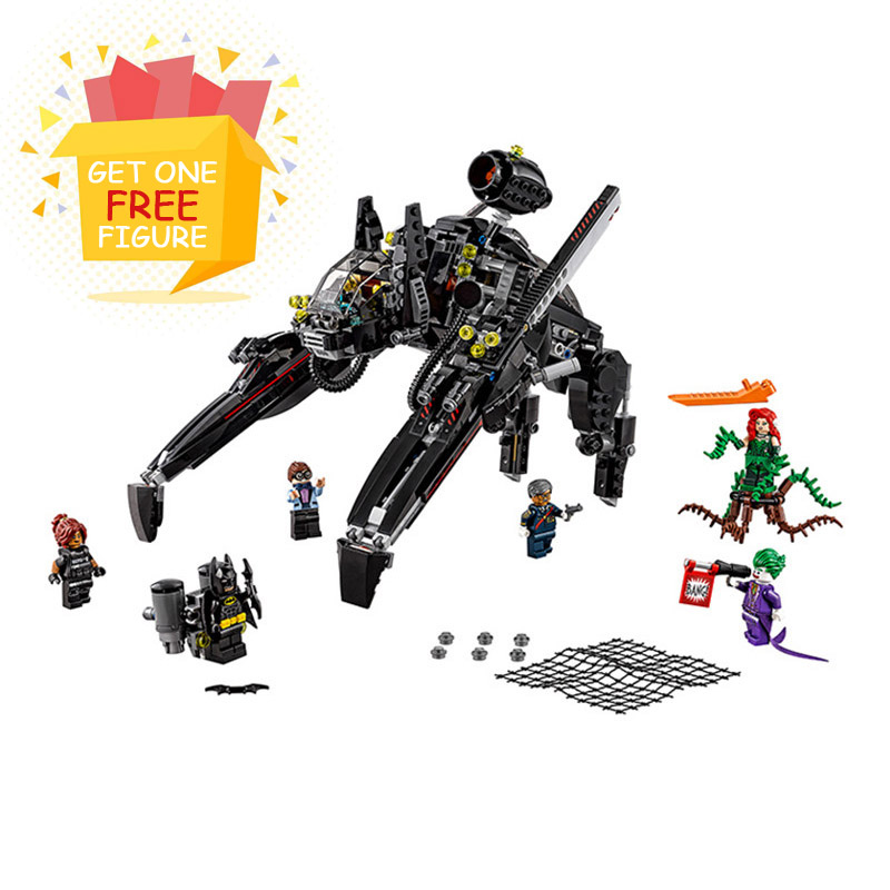 Bela Pogo Compatible Legoe 70908 10635 Batman The Scuttler Super Heroes Marvel Avengers Building Blocks Bricks toys for children