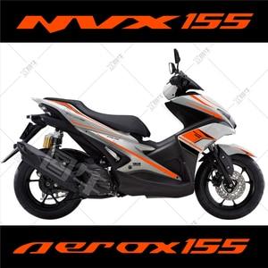 Image 3 - Motorcycle car Whole car flower pulling Body sticker For Yamaha NVX AEROX 155