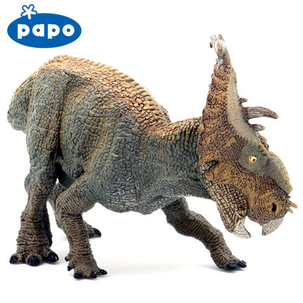 Papo Pachyhinosaurus Simulated Dinosaur Model Museum Collection Jurassic World Ancient Creatures Children's Toys ancient world world history