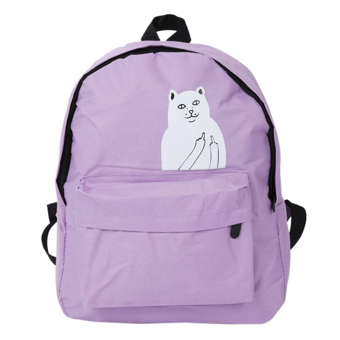HEBA Chic Cool Young Fashion Boys and Girls Canvas Shoulder Bag Women Small Stylish Cartoon Animal Patterned Backpack
