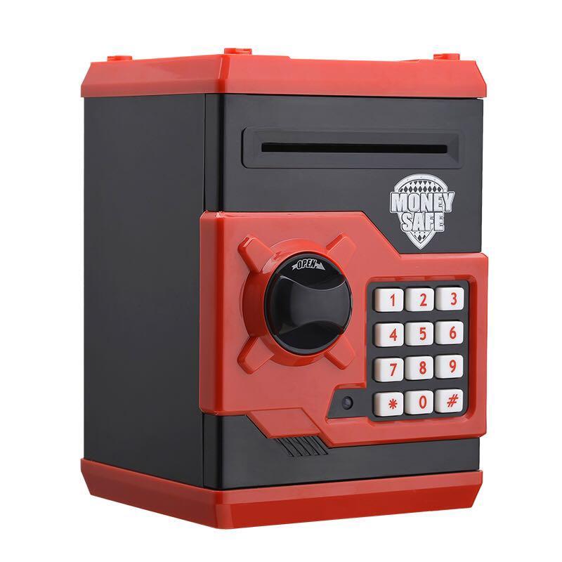 Piggy Bank Safe Box Money Bo