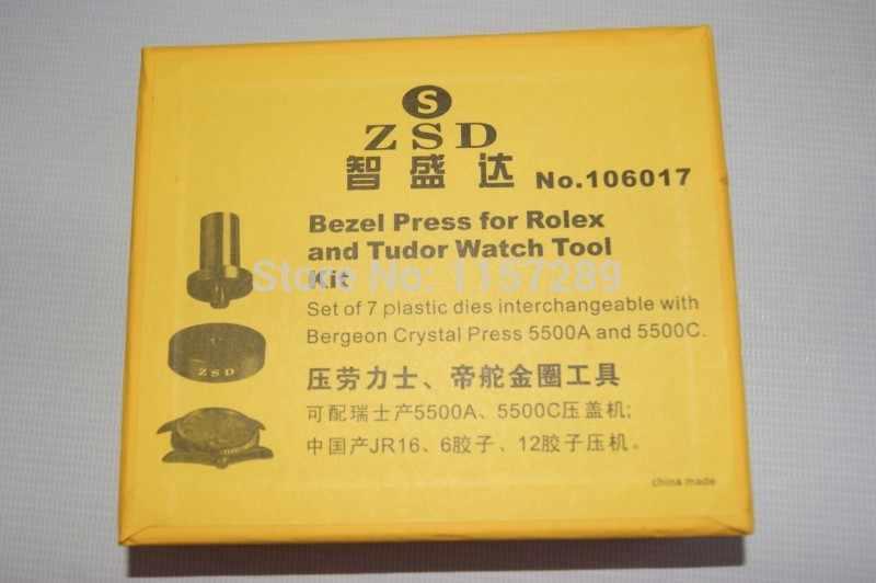 Часы Ободок штампов для Rolex и tudor Часы 9 шт. умереть комплект