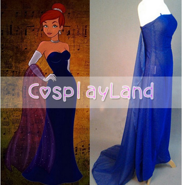 Princess Anastasia Dress Opera Gown Movie Cosplay Costume for Women ...