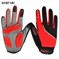 Running Gloves Outdoor Sport Gloves For Men Women Army Winter Gloves Full Finger Cycling Gloves h43