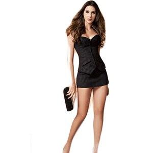 Bedrijfskledij Bondage de Schouder Lage uitgesneden Corset Kostuum Taille Panty Goede Keurslijf voor Vrouwelijke Sexy Corsetry CA414