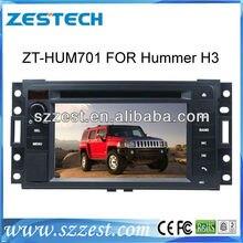 ZESTECH 2 din car dvd player for HUMMER H3 car dvd with gps navigation radio BT DVD mp3 mp4 Ipod bose amplifier
