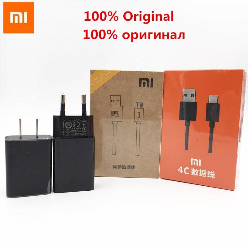 Original XIAOMI QC2.0 Fast Charger 9V-1.2A / 12V Adapter USB Cable For MI6 MIX2 Max note4X MAX2 Redmi5 5PLUS REDMI4A 4X A1 5X
