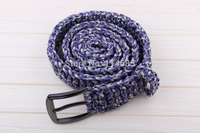 New Hand made Mil Spec Type III 7 Core Strand Survival Parachute Cord Paracord Survival Kits Belt 1pc