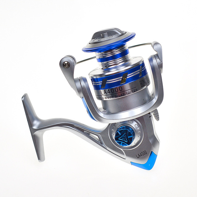 Yumoshi 2000-5000 12BB 5.5:1 Feeder Fishing Reel Metal Spinning Reels Carp Fishing Reels Carretilha de pesca Moulinet
