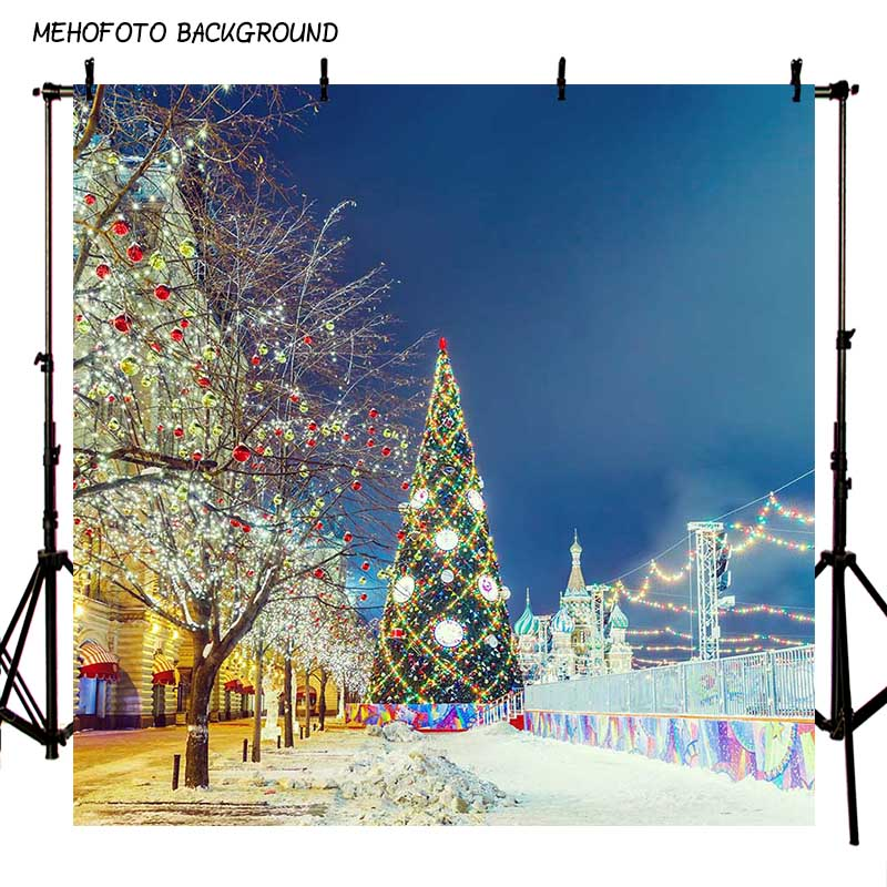 MEHOFOTO Seamless Christmas Theme Photography Backdrops 10X10FT Children Photo Background Props Photo Studio ST-539 mehofoto 8x12ft vinyl photography background christmas theme backdrops light for children snow for photo studio st 328