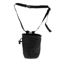 лучшая цена Lightweight Rock Climbing Chalk Bag Adjustable Nylon Waist Belt Strap with Clip Buckle 118cm Replacement Accessories