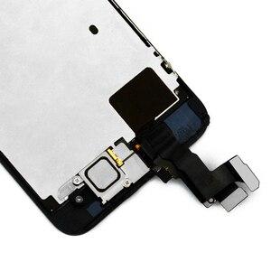 Image 4 - Ensemble complet assemblage complet écran LCD pour iPhone 5 5C 5S LCD écran tactile numériseur bouton daccueil caméra avant + haut parleur avec outils