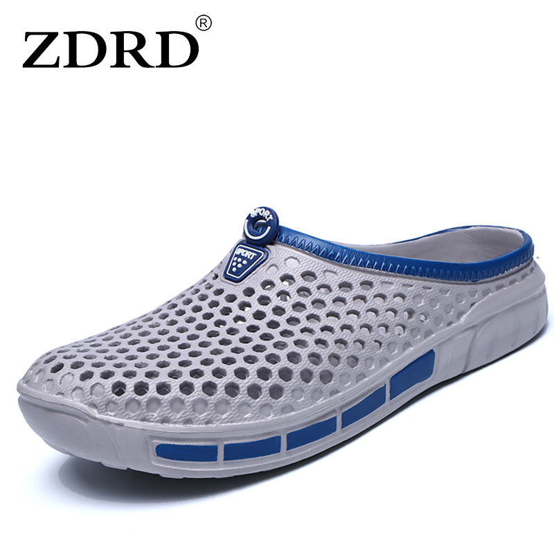ZDRD men Summer casual fashion sandals Cro shoes cs home male beach slippers funny mans slipony flip flops men bathroom slippers summer men sandals han edition leather sandals beach shoes slippers male fashion casual shoes men s shoes leather sandals