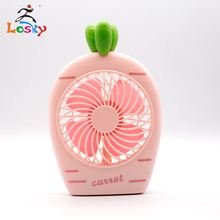 Cute summer cartoon mini usb battery small fan student portable rechargeable dormitory fan bed