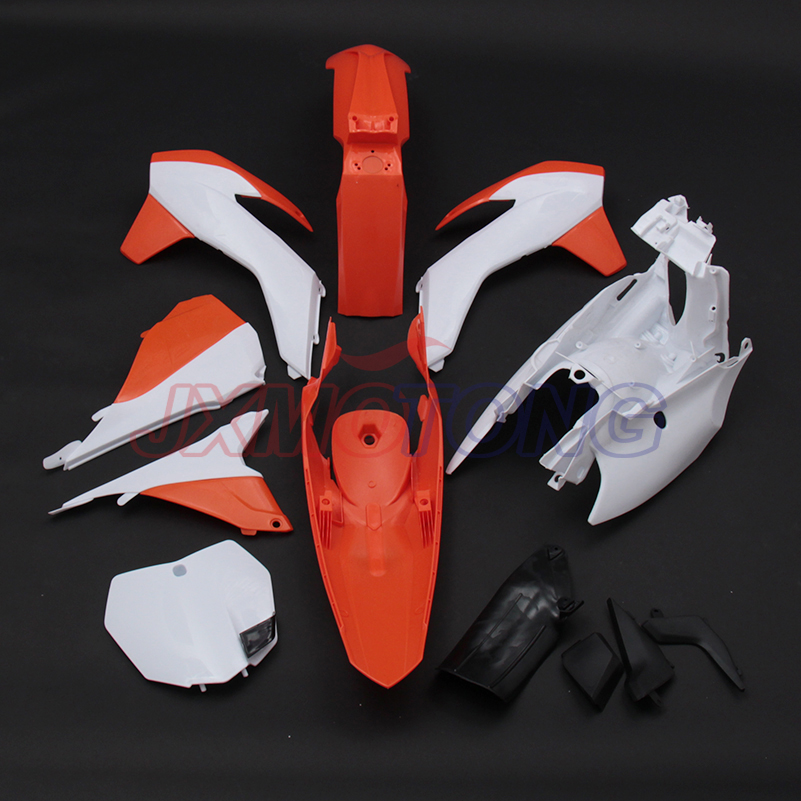 New Plastic Kit Fender Farings For KTM SX 125 150 250 SX-F 250 350 450 Dirt Bike Off Road Motorcycle Parts