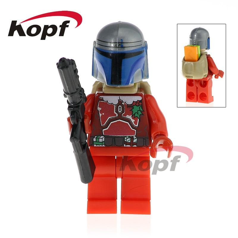 Single Sale Jango Fett Star Wars Luminara Unduli Naboo Guard Darth Malgus Bricks Model Building Blocks Children Toys Gift PG768