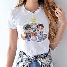 EXO female t-shirt NEW Summer k-pop xoxo k pop Short Sleeve Women T Shirts kpop