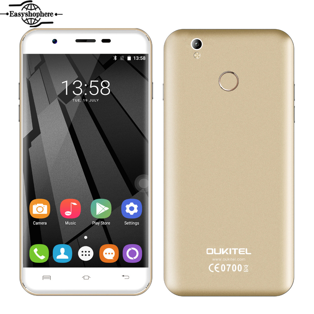Oukitel U7 Plus 4G LTE Smartphone 5 5 Inch 2GB RAM 16GB ROM 13MP Mobile Phone