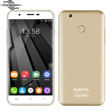 Oukitel U7 Plus 4G LTE Smartphone 5.5 Inch 2GB RAM 16GB ROM 13MP Mobile Phone MT6737 Quad Core 1.3GHz 2500mAh Android 6.0 Phone