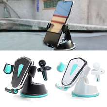 Car Phone Holder Gravity Air Vent Mount Holder For For IPhone XS MAX XR X 7 No Magnetic Suction Cup Phone Holder car swivel suction cup mount holder for htc one x black