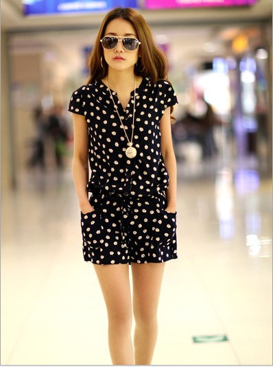 New Arrival Design Summer 2014 Female Jumpsuits Show Style Slim