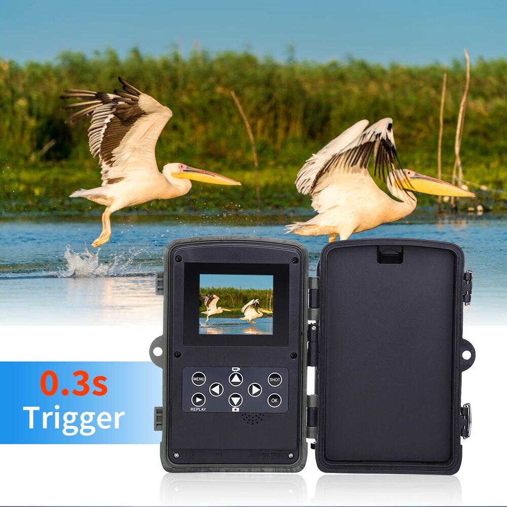 Image 2 - BOBLOV Hunting Trail Camera Night Version Wild Cameras 16MP 1080P IP65 Photo Trap 0.3s Trigger Wildlife Camera Surveillance-in Hunting Cameras from Sports & Entertainment