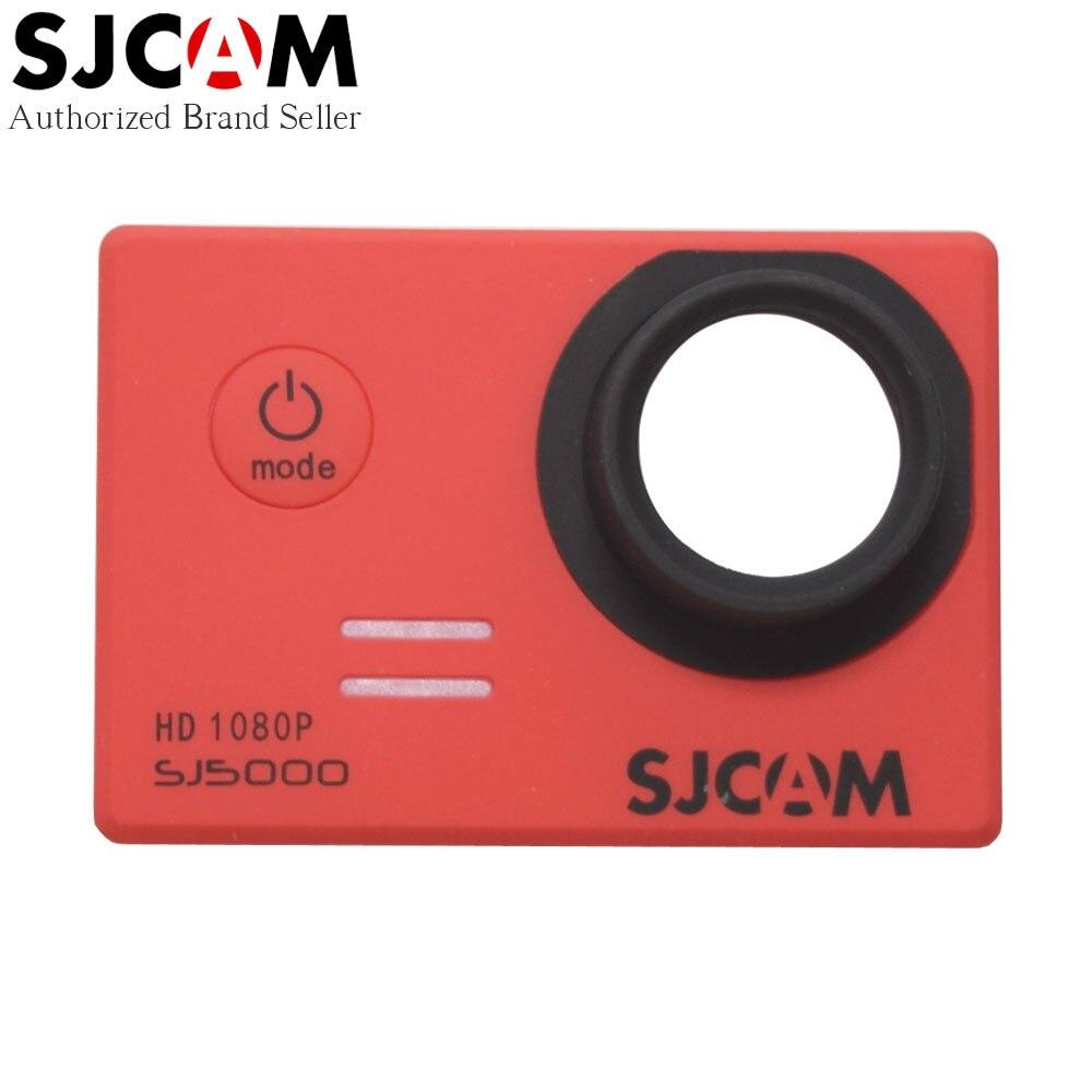 bbf6e608bd78 100% original SJ5000 Accesorios front panel case Parts para sjcam SJ 5000  deporte al aire libre acción cámara de vídeo envío gratis