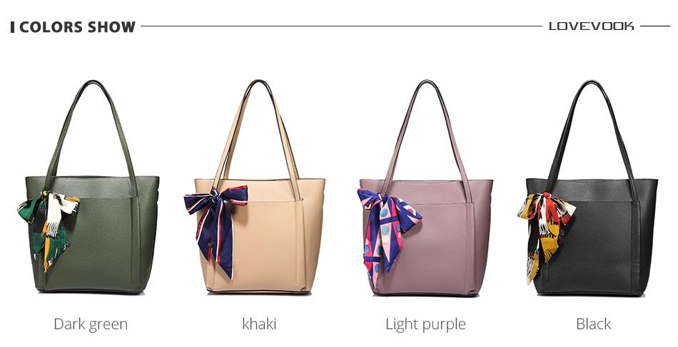 Lovevook mulheres bolsa de ombro sacos do
